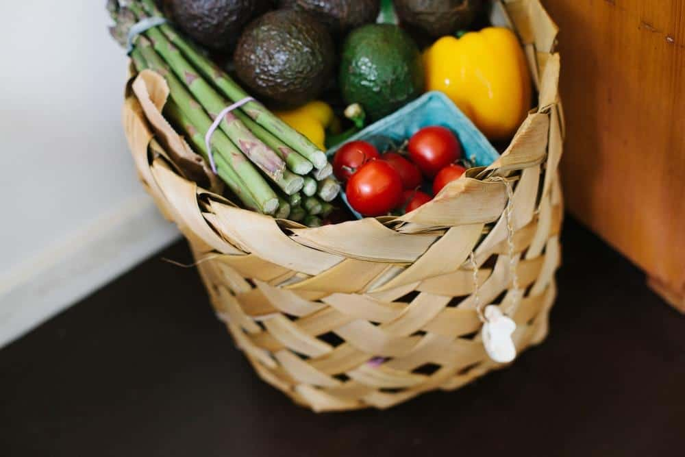 Groceries basket